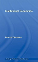 Institutional Economics - Bernard Chavance