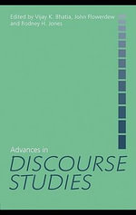 Advances in Discourse Studies - Vijay Bhatia