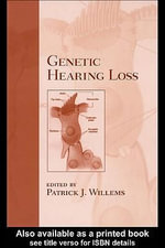 Genetic Hearing Loss - Patrick J. Willems