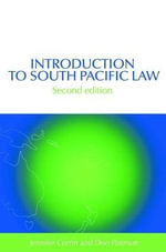 Introduction to South Pacific Law - Jennifer Corrin
