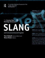 The Concise New Partridge Dictionary of Slang and Unconventional English - Eric Partridge