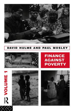 Finance Against Poverty : Volume 1 - David Hulme