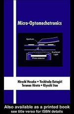 Micro-Optomechatronics - Hiroshi Hosaka