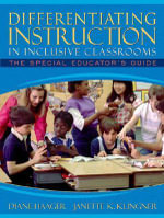 Differentiating Instruction in Inclusive Classrooms : The Special Educator's Guide - Diane S. Haager