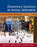 Elementary Statistics in Social Research : Mysockit - Jack Levin
