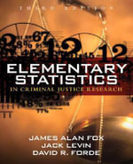 Elementary Statistics in Criminal Justice Research - James Alan Fox