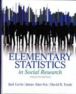 Elementary Statistics in Social Research - Jack Levin