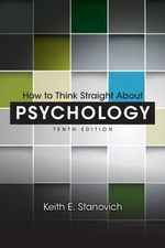 How to Think Straight About Psychology - Keith E. Stanovich