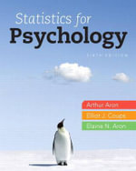 Statistics for Psychology Plus New MyStatLab with Etext -- Access Card Package - Arthur Aron