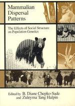 Mammalian Dispersal Patterns : The Effects of Social Structure on Population Genetics