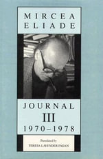 Journal : 1970-78 v. 3 - Mircea Eliade