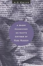 A Short Commentary on Kant's
