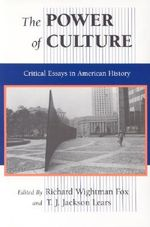 The Power of Culture : Critical Essays in American History - Richard Wightman Fox