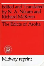 Edicts of Asoka - N.A. Nikam