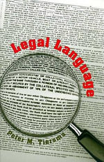 Legal Language - Peter M. Tiersma