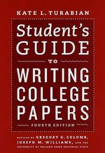 Student's Guide to Writing College Papers : For Authors and Publishers
