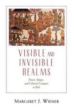 Visible and Invisible Realms : Power, Magic and Colonial Conquest in Bali - Margaret J. Wiener