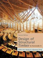 Design of Structural Timber : To Eurocode 5 - W.M.C. McKenzie