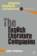 The English Literature Companion : Inventions of the City - Julian Wolfreys