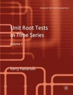 Unit Root Tests in Time Series: v. 1 : Key Concepts and Problems - Kerry Patterson