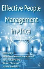 Effective People Management in Africa : Key Themes in Inter-professional Ethics