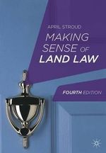 Making Sense of Land Law : Clarence Darrow's Letters - April Stroud