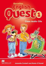 Macmillan English Quest Class Audio CD Level 1 : Macmillan English Quest - Jeanette Corbett