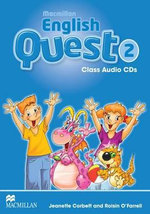 Macmillan English Quest Class Audio CD Level 2 : Macmillan English Quest - Jeanette Corbett