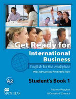 Get Ready for International Business Student's Book with BEC Level 1 - Andrew Vaughan