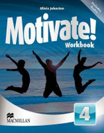 Motivate! Workbook Pack Level 4 - Olivia Johnston
