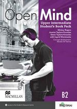 Open Mind British Edition Upper Intermediate Level Student's Book Pack - Mickey Rogers
