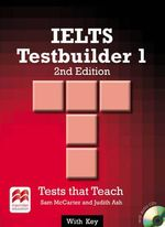 IELTS 1 Testbuilder 2nd Edition Student's Book with Key Pack - Sam McCarter