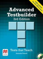 Advanced Testbuilder 3rd Edition Student's Book Without Key Pack - Amanda French