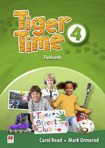 Tiger Time Level 4 Flashcards - Carol Read
