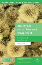 Strategy and Human Resource Management : 3rd Edition - Peter Boxall