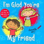 I'm Glad You're My Friend : Doodle on! - Cathy Phelan