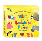 What the Ladybird Heard and Friends : What the Ladybird Heard, Sharing a Shell, the Princess and the Wizard and the Rhyming Rabbit - Julia Donaldson