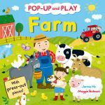 Pop-up and Play Farm : A Pop-up Gift Book! - Jannie Ho