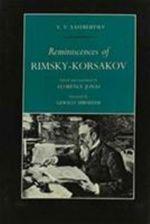 Reminiscences of Rimsky-Korsakov - V. V. Yastrebtsev