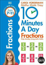 10 Minutes a Day Fractions : Fractions - Carol Vordeman