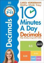 10 Minutes a Day Decimals -  Carol Vordeman