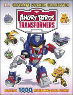Angry Birds Transformers Ultimate Sticker Collection : More than 1000 reusable full-colour stickers - Dorling Kindersley