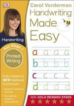 Handwriting Made Easy Printed Writing KS1 - Carol Vorderman