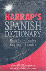 Harrap's Spanish Dictionary :  In English, German, French and Russian - Harrap's Publishing