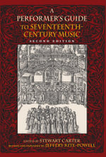 A Performer's Guide to Seventeenth-Century Music - Jeffery Kite-Powell