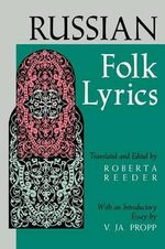 Russian Folk Lyrics : Social History and Ethnography of an African Popul...