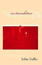 On Translation : Studies in Continental Thought (Hardcover) - John Sallis