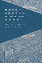 Measuring the Restrictiveness of International Trade Policy : Being a Study in the History of the Book Trade in ... - James E. Anderson
