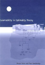 Learnability in Optimality Theory - Bruce Tesar