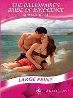 Billionaire's Bride of Innocence - Miranda Lee